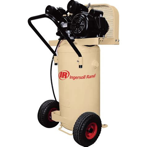 ingersoll rand garage mate portable electric air compressor 2 hp 20 gallon vertical 5 5 cfm