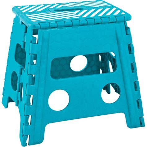 foldable step stool walmart simplify 13 quot folding step stool walmart