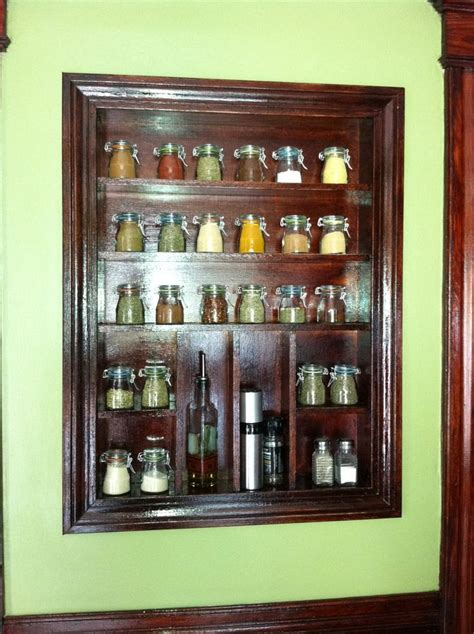 Built In Spice Rack built in spice rack kitchen