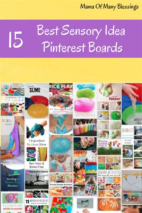 top pinterest boards top 15 kids sensory ideas pinterest boards