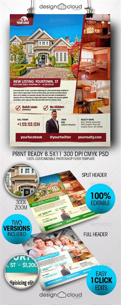 buy flyer templates realtor real estate flyer templates flyers fly with
