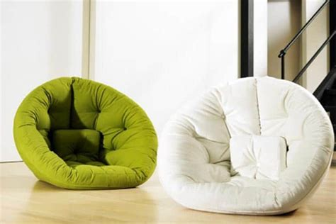 nest futon chair a perfect lounge chair or guest bed for space limited