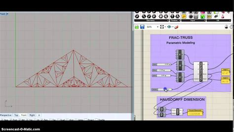 bridge design pattern youtube fractruss python in grasshopper for fractal truss design