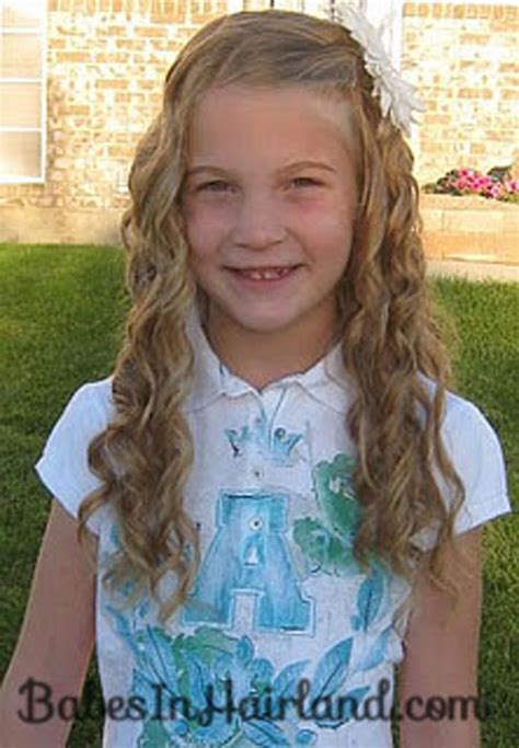 hair styles for 3rd graders curlformers are our friends babes in hairland