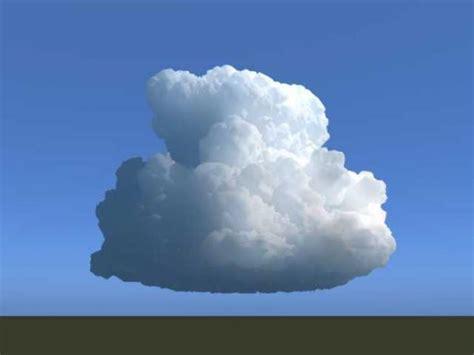 3d cloud cumulonimbus cloud 3d model sharecg