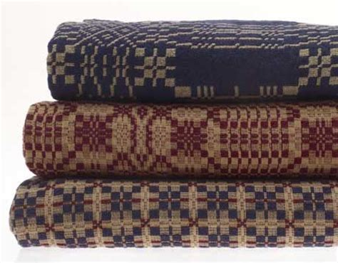 Family Heirloom Weavers Coverlets made in america web exclusives small company loom and dating