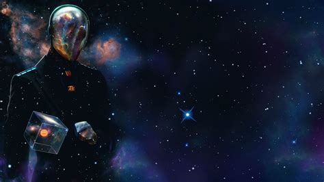 hex  man standing men outer space wallpaper