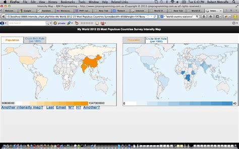 javascript tutorial map php javascript html google chart intensity map tutorial