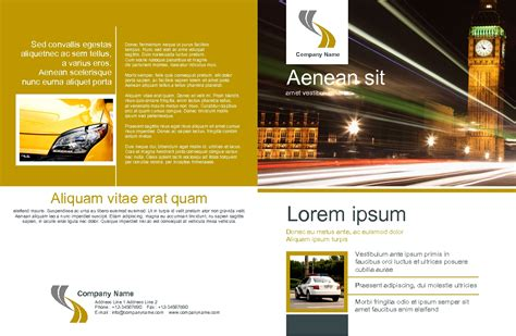 marketing brochure templates set 1 marketing brochure templates set 1