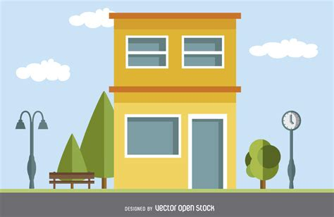 modern home design vector modern house drawing vector download