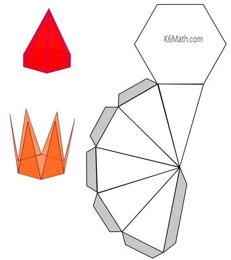 How To Make Paper 3d Shapes - how to make a 3d shape out of paper 28 images how to