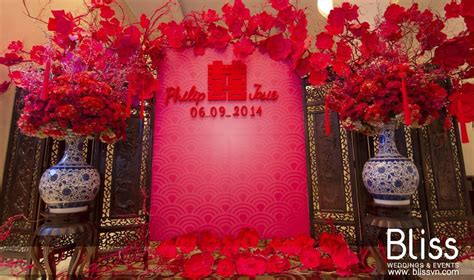 asian wedding home decorations real wedding vivid chinese night bliss weddings events