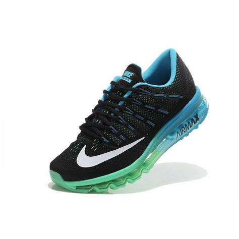 nike sport shoes nike airmax 2016 black blue green sport shoes give an
