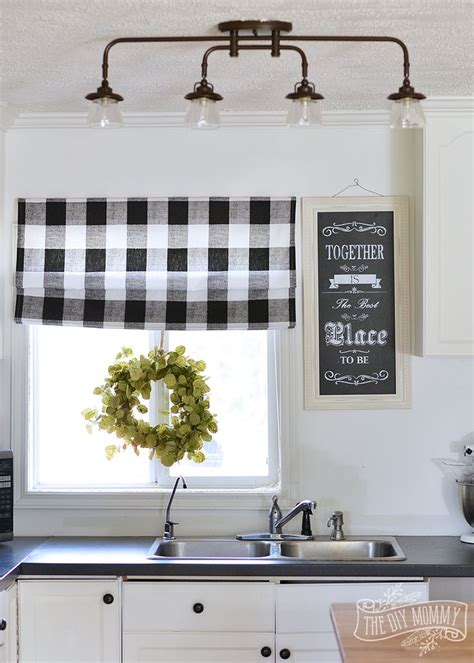 cottage kitchen lighting 25 best ideas about plaid curtains on pinterest plaid