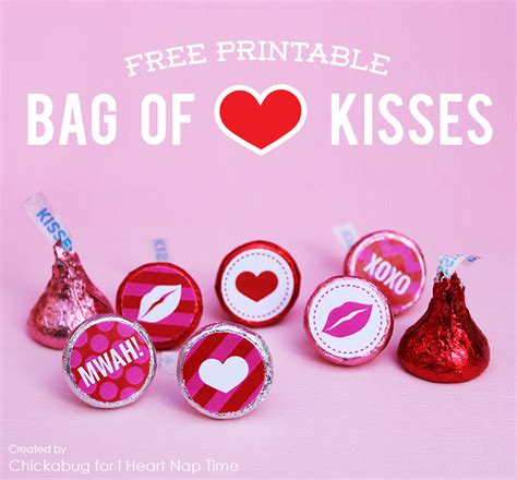 Valentines Kisses by Bag Of Kisses I Nap Time