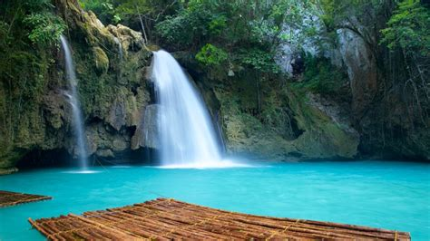 waterfall pictures view images  philippines