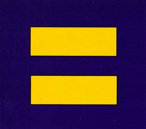 Equal Symbol Bumper Sticker equality symbol equal rights marriage equality bumper