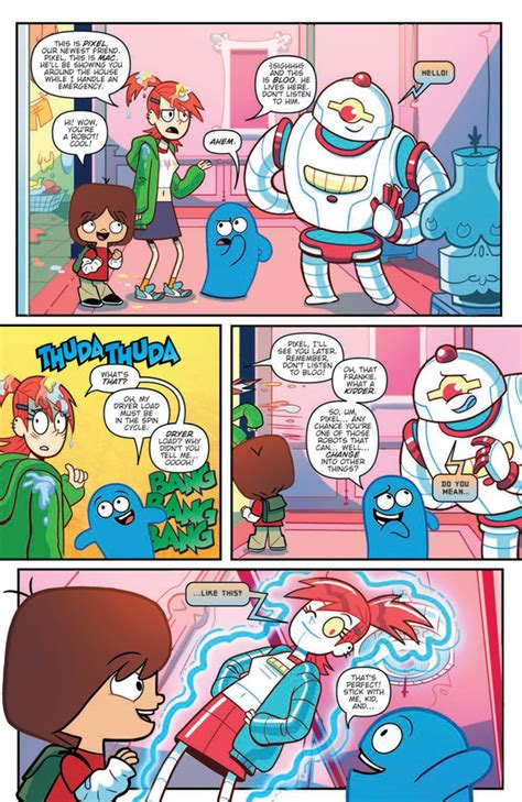 fosters home for imaginary friends comics 28 images