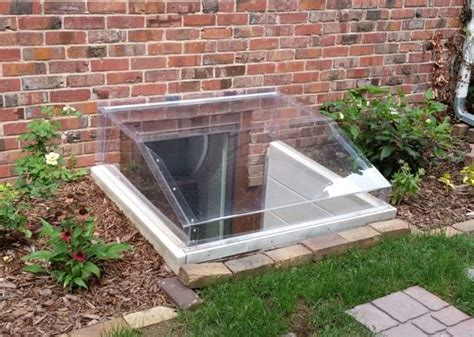 clear window well covers square window well covers made to fit any rectangular shape