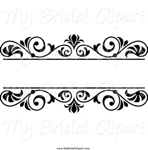 Wedding Border Vector by Wedding Clip Black And White Border Cliparts Co