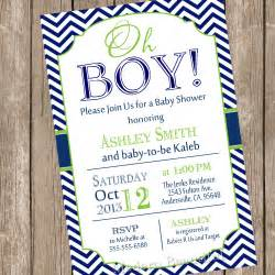 baby boy invitations shower theruntime