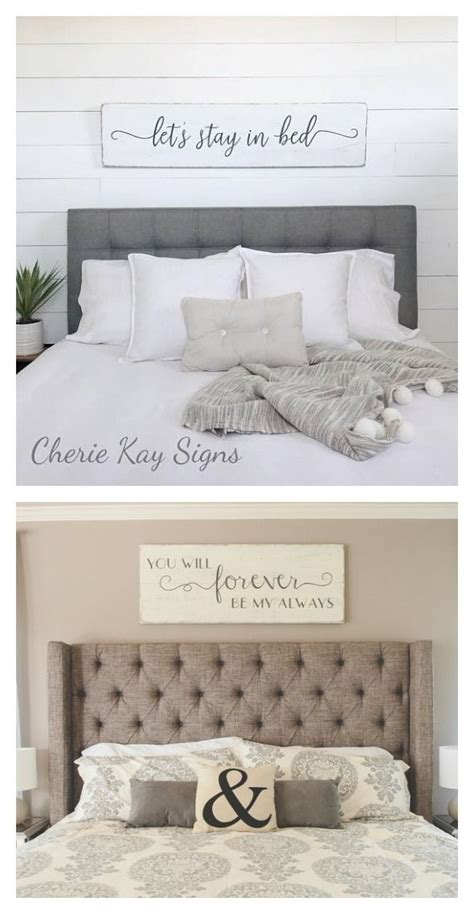 Bedroom Signs by These Bedroom Signs To Hang Above Your Headboard