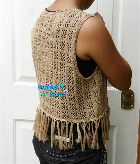 chaleco para damas tejidos turki chalecos calados a crochet y a maquina tejidos turki