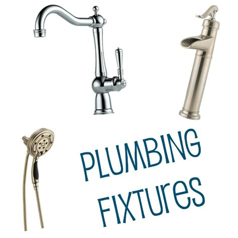 Plumbing And Fixtures house update plumbing fixtures a with sapphires
