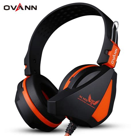 Headset With Mic Headphone Ovann X1 Professional Stereo Gaming buy wireless headset sport earphones portable bluetooth 4 1 earphone x16 stereo voice