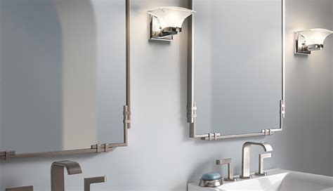kichler lighting 41033dbk meredith bathroom mirror tulare collection