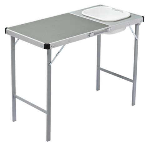 Coleman Sink Table by Oztrail C Table With Sink Cing Equipment Perth