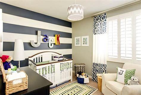 boys room accent wall striped nursery contemporary nursery j and j design