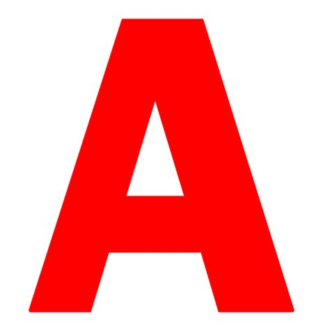 printable letters in red red a dr odd