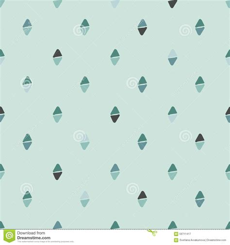 seamless pattern simple simple seamless pattern pastel green stock vector