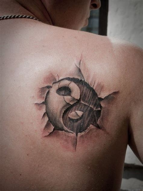 yin yang tattoo for men 50 mysterious yin yang designs ideas