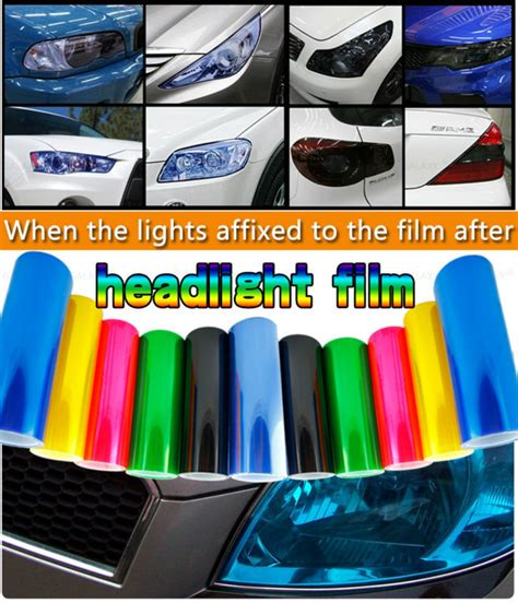 Promo Heboh Sticker Headlight Taillight Chameleon Vinyl Tint Purp free shipping 13 all colors 30cm x100cm auto car light headlight taillight tint vinyl