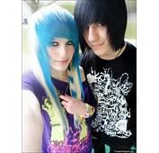 Cute Emo Couple Love Beautiful Girl Boy Lovers
