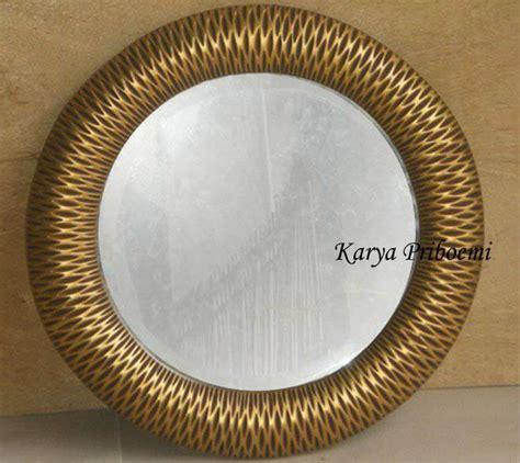 Cermin Mirror Bulat cermin bulat antik