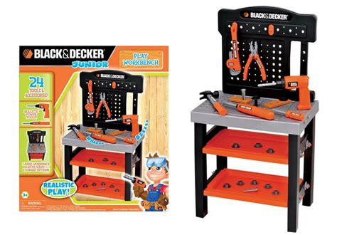 kids black and decker work bench 21 24 reg 45 black decker kid s play workbench