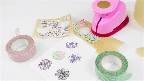 Sticker Selber Machen by Washitape Sticker Selber Machen Einfache Schnelle Deko
