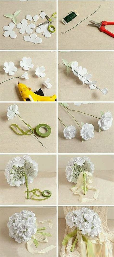 Wonderful diy flower bouquet for wedding