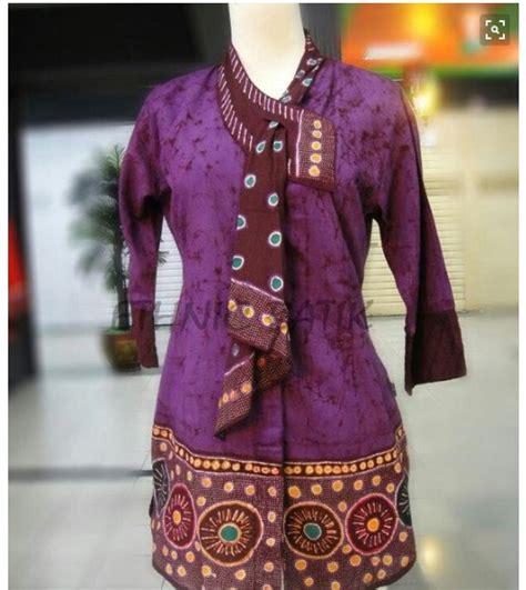 Baju Batik Kerja Terbaru 20 model baju batik kerja terkini ragam fashion
