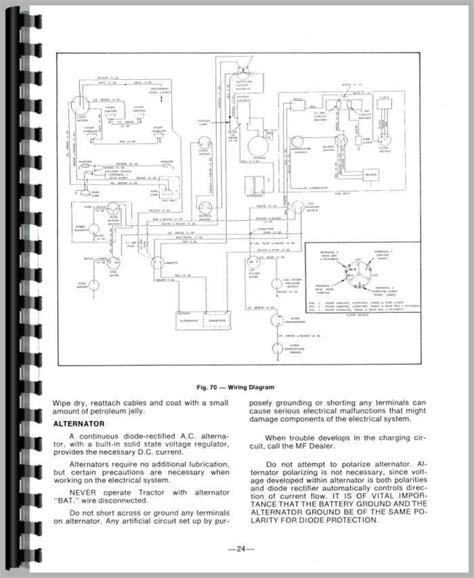 generous free sle detail massey ferguson 35 wiring