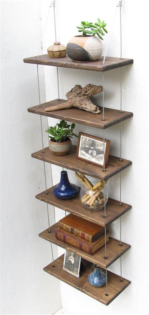 Hanging Bookshelves by Shelves Industrial Shelves Wall Shelves Floating Shelf