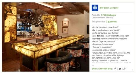 Bar Top Options Onyx And Backlighting Bar Top Ideas Bars