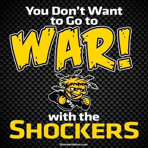 sports time fan shop wichita ks you don t want go to war with the shockers wsu