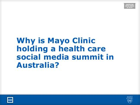 Connected Care At Mayo Clinic Mayoinoz Opening Keynote