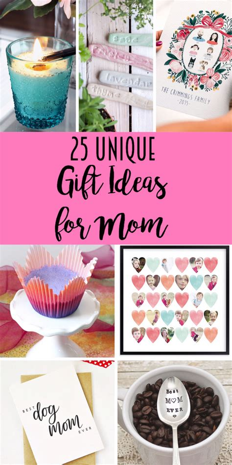 unique gifts for mom 25 unique gift ideas for mom lydi out loud