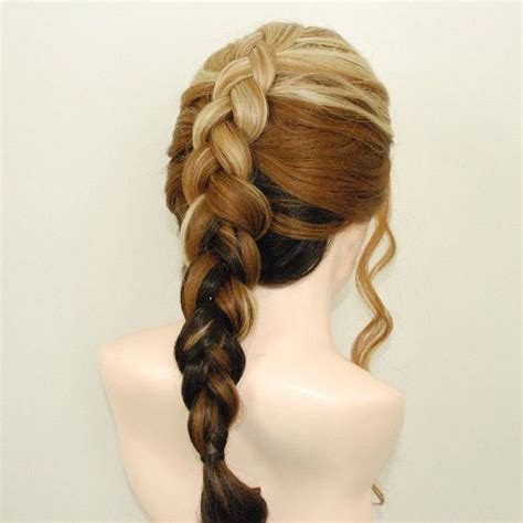 glue in french braids lace front french braided wig with ombre mix undo the
