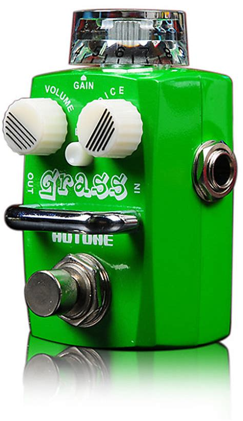Hotone Grass Overdrive Based On Dumble hotone nano grass skyline series modern overdrive pedal reverb